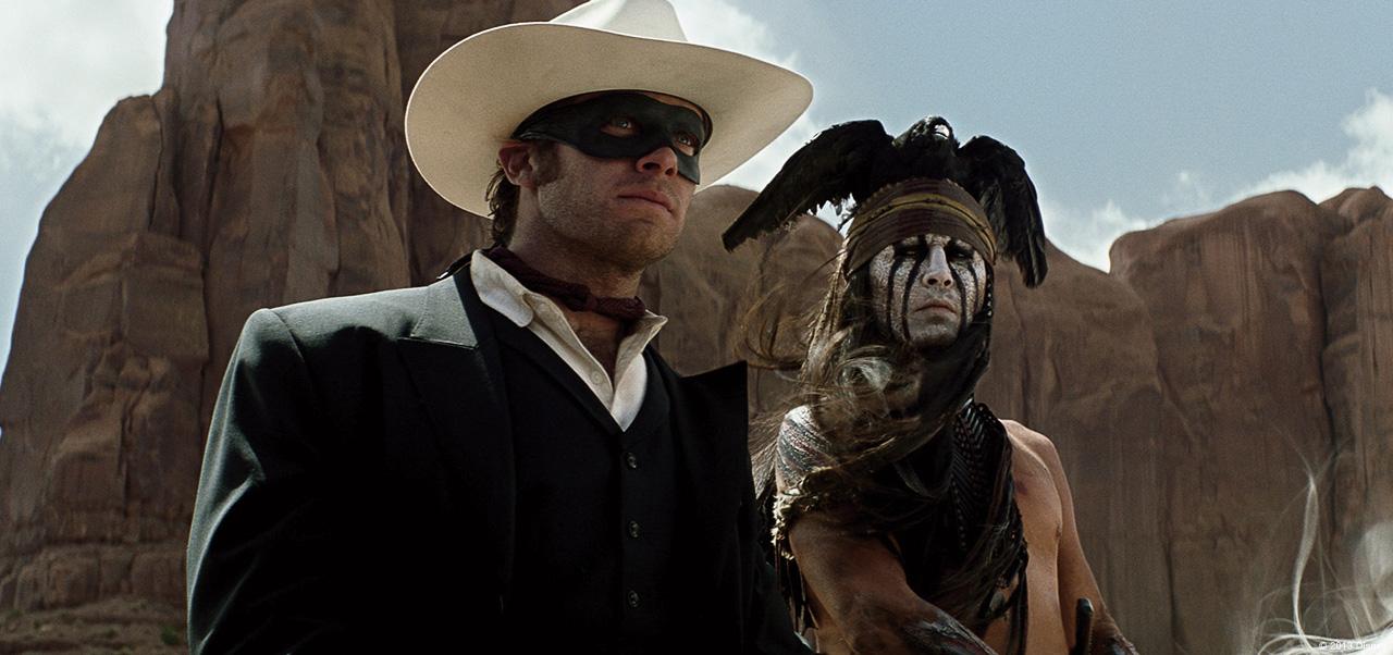 """Jam, Kereta Api, Topeng: Menonton Penghancuran Kreatif Kapitalis dalam """"The Lone Ranger"""""""