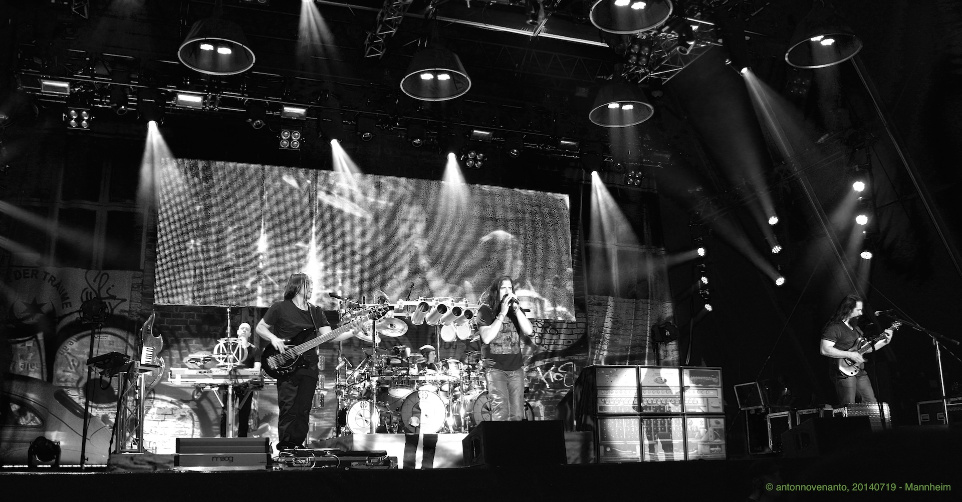 Dream Theater in Action